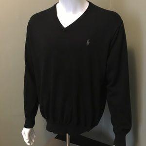 Nice soft Polo Ralph Lauren XL V neck sweater